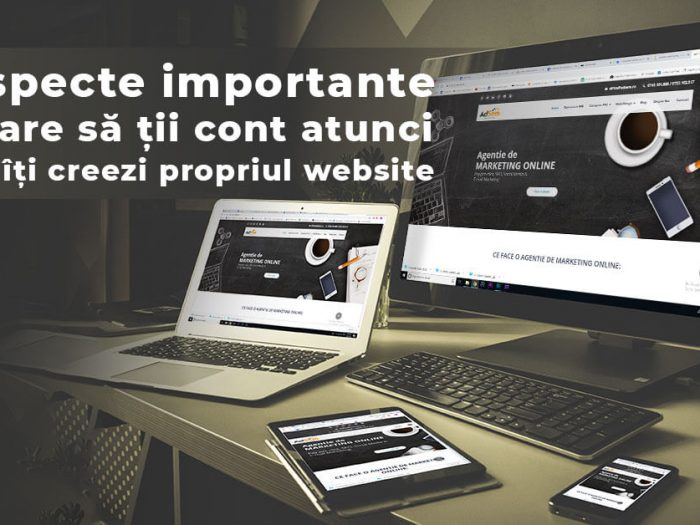 realizare website